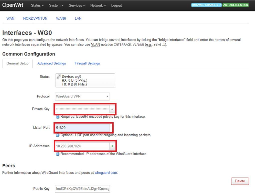 Wireguard exclude ips